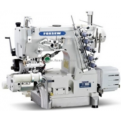 Direct Drive Cylinder Bed Interlock Machine Right Side Cutter with Rear Puller and Tension Roller