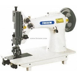 Double Needle Top and Bottom Feed Lockstitch Moccasin Machine for Extra Heavy Duty