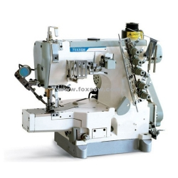 Cylinder Bed Interlock Sewing Machine with Top and Bottom Thread Trimmer