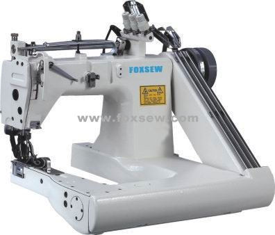 Three Needle Feed-off-the-Arm Sewing Machine (with Internal Puller)