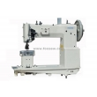 Heavy Duty Post Bed Compound Feed Walking Foot Upholstery Sewing Machine