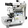 Elastic Attaching Overlock Sewing Machine with Upper Tape Feeder