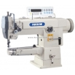 Direct Drive Cylinder Bed Unison Feed Heavy Duty Lockstitch Sewing Machine with Automatic Trimmer