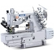Full Automatic Thread Trimmer Interlock Sewing Machine with Rear Puller