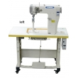 Fully Automatic Small High Post Bed Heavy Duty Lockstitch Sewing Machine