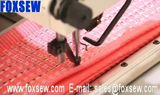 Automatic Extra Heavy Duty Pattern Sewing Machine for Webbing Slings