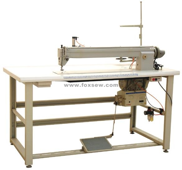 Long Arm Label Zigzag Mattress Sewing Machine